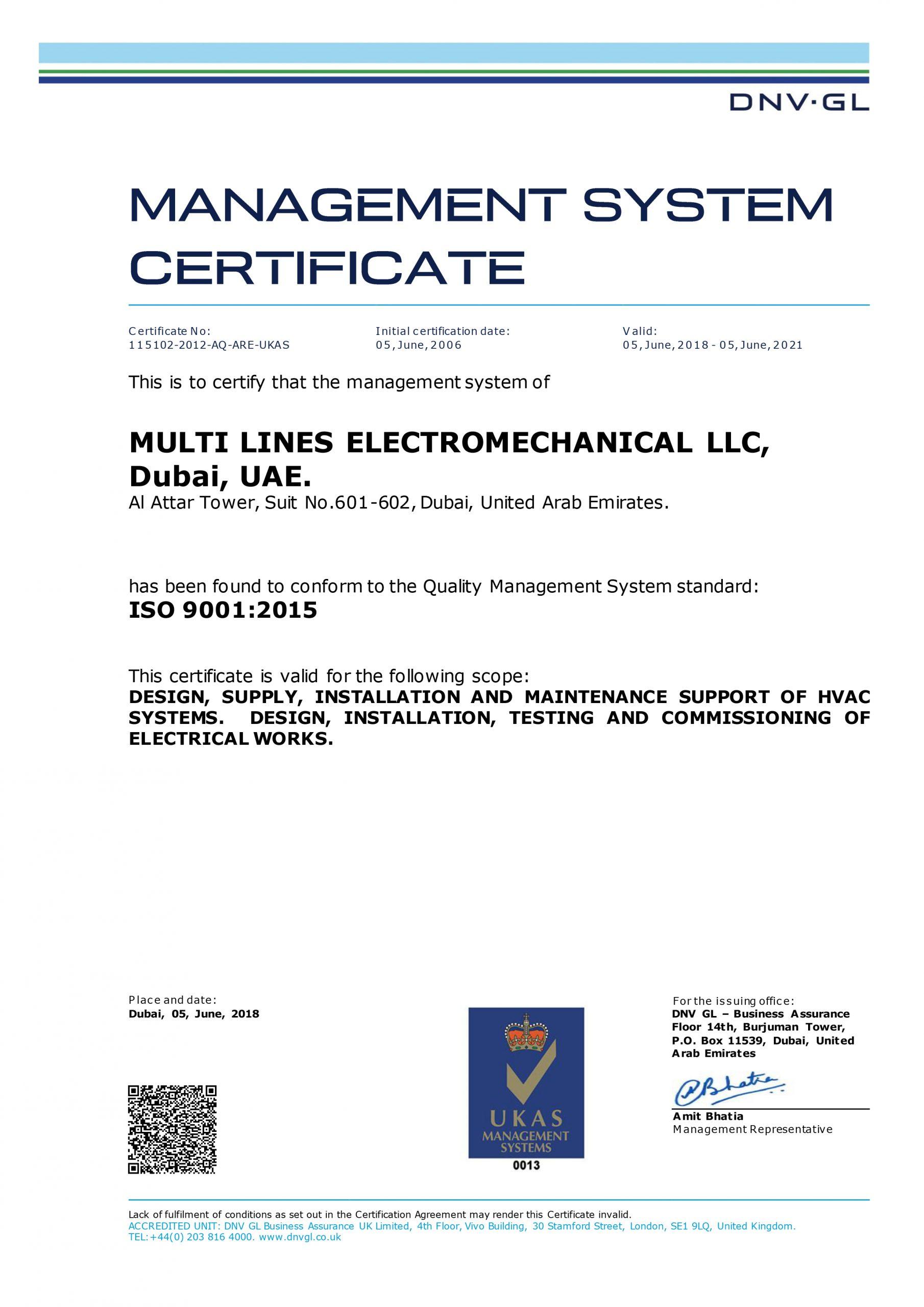 #1 Electromechanical Companies in UAE